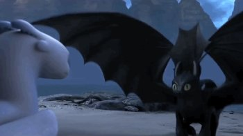 5 white night fury gifs gif abyss